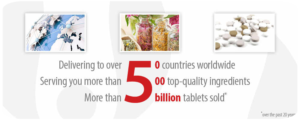 Calivita in 50 countries, natural ingredients, billion tablets sold